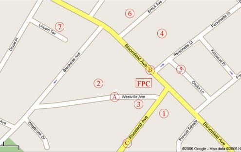 FPCC Parking Map