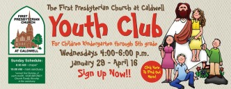 Sign up for Youth Club