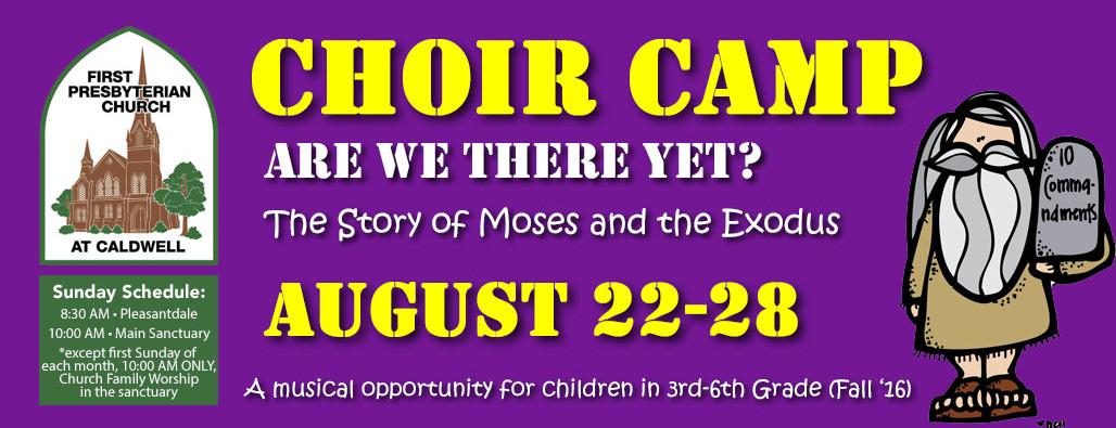 Choir Camp Slider
